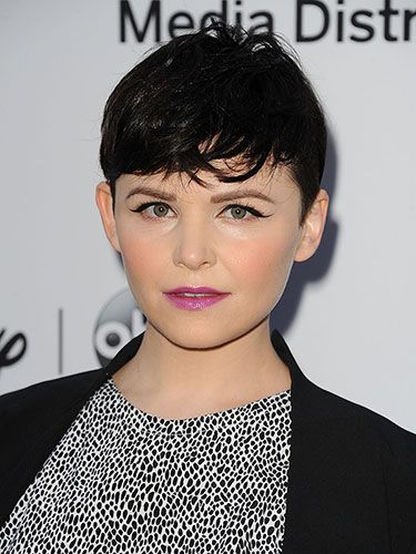 ROUND FACES  The pixie Short cuts with lots of texture work for round-but-petite faces like Ginnifer Goodwin's, Nonn says. To add texture to your own pixie, Palacios recommends using pomade or hairspray.