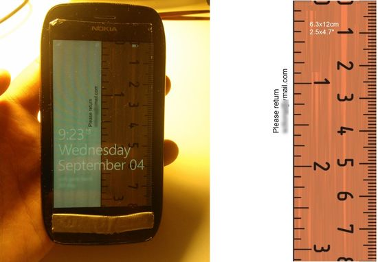 Make your phone's wallpaper a ruler to use to measure small objects. Cool