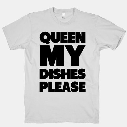 Queen my Dishes Please #tv #commercial #funny #joke #cute #queen #clean