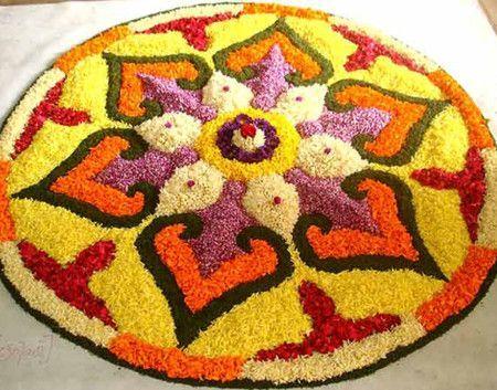 Beautiful Flower Carpet Floor Design Ideas -