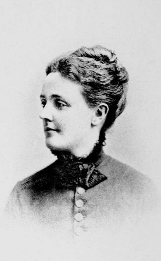 "American author Sarah Orne Jewett (1849-1909) never married, but was involved in a ""Boston marriage"" with fellow writer Annie Fields for a number of years."