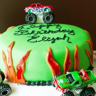 Monster Truck Cake Recipe