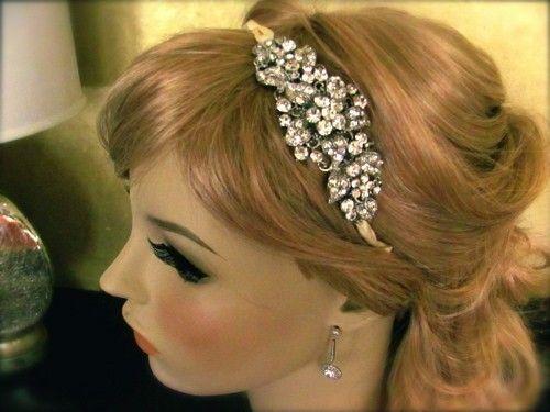 BEST SELLER Stunning Rhinestone bridal headpiece  by lolasJewelry, $95.00