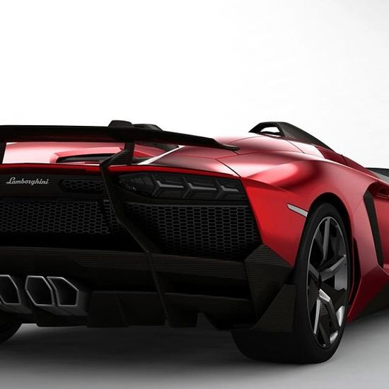 Lamborghini Aventador backside - one of the best