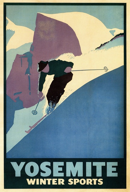 Yosemite Winter Sports poster