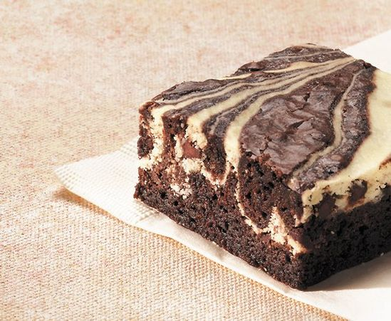 cheesecake brownies...with a different brownie recipe