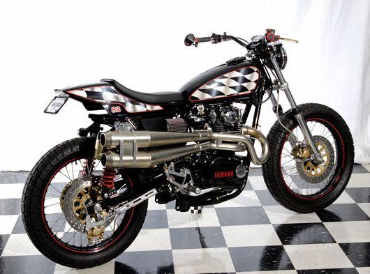 1975 Yamaha XS650 Street Tracker by Cycle Sports