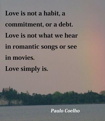 Paulo Coelho. Love...
