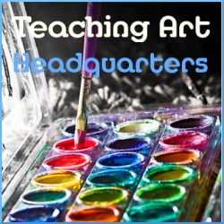 teaching art headquarters; list of links to multiple art resources for homeschool