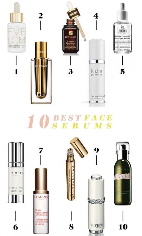 10 Best Face Serums