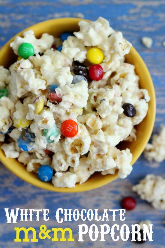 White Chocolate M Popcorn