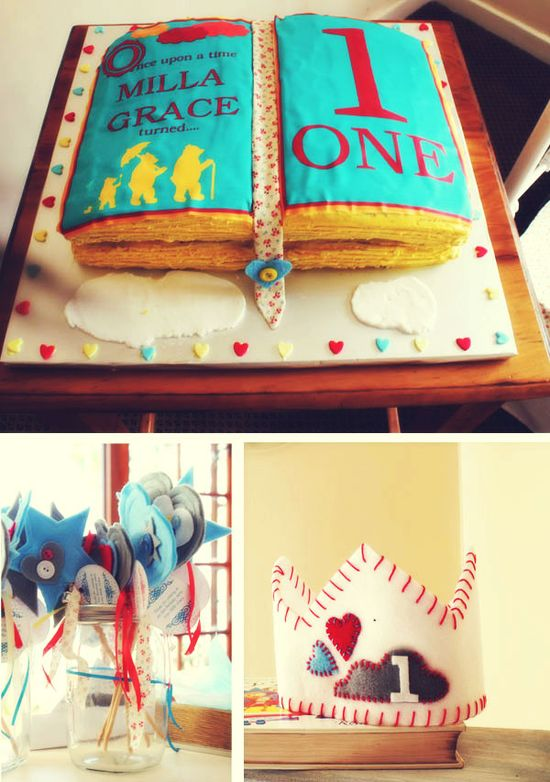 Once upon a time... Birthday party!  Love this!