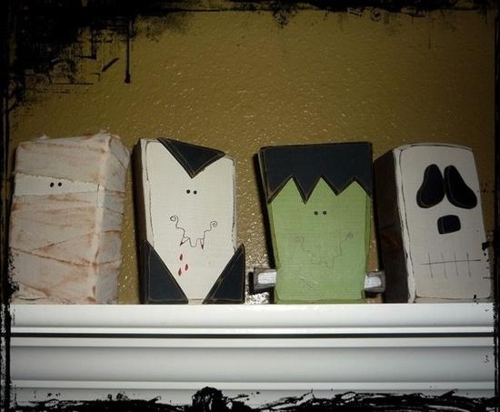Cute Halloween Blocks