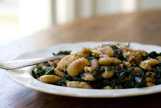 Beans and kale? YUM