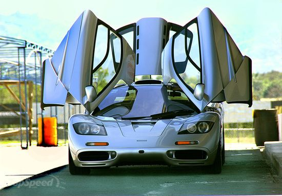 McLaren F1. One of the best sports cars ever made!