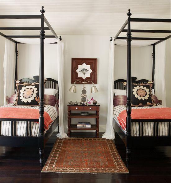 a cozy guest room
