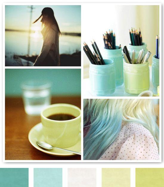 Color Inspiration Daily: Mint + Light