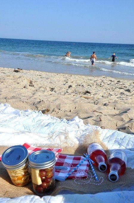 Beach Picnic in A Jar by jenna