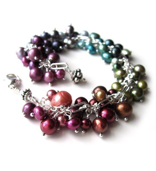 Pretty pearl bracelet...love it!