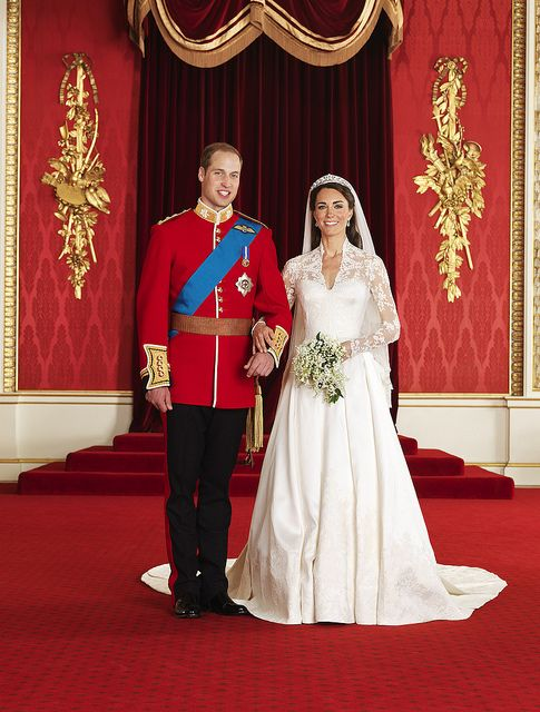 The Official Royal Wedding photographs by The British Monarchy, via Flickr