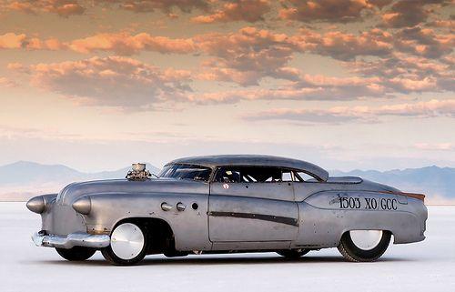 1952 BUICK SUPER, BONNEVILLE SPEED WEEK 2009