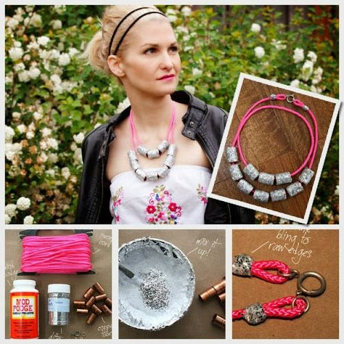 DIY : Fashion Copper Tube Necklace