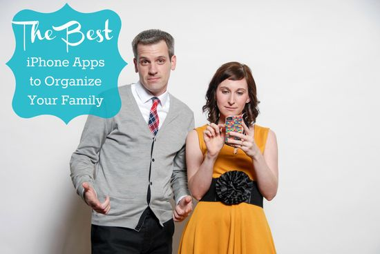 The Best iPhone Apps to Organize Your Family from MomAdvice.com.