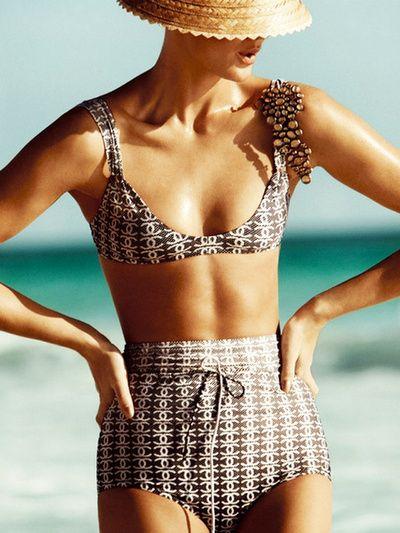 Retro Now, Chanel Swimsuit