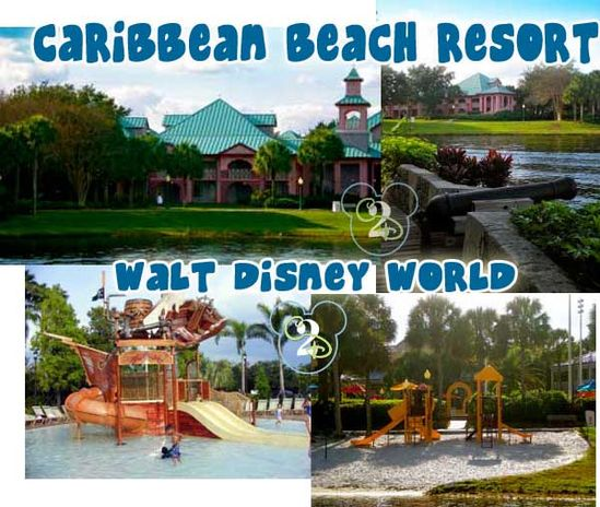 Walt Disney World's Caribbean Beach Resort has an awesome pool for the kiddos! Pinning now and dreaming about it for later.