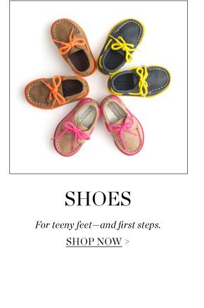 JCrew.com baby collection shoes