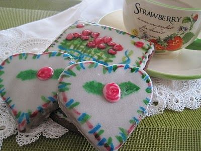 saboragalletas: DECORATED COOKIES