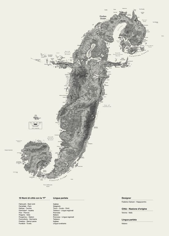 Map of Island F.