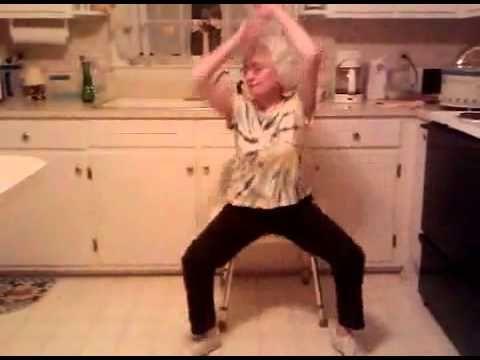 Grandma Usher dance-i'm confused.