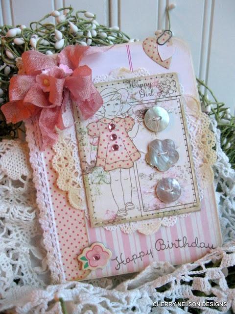 Cherry's Jubileelove this pretty card