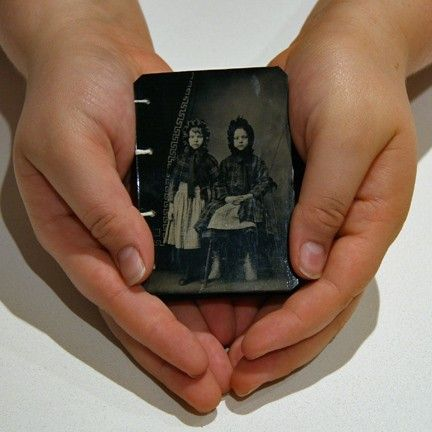 So great.  Tintype handmade journal!