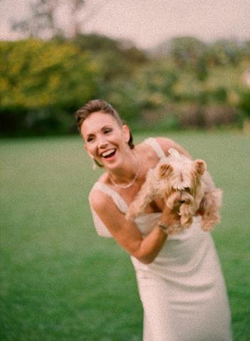 A bride's best friend!