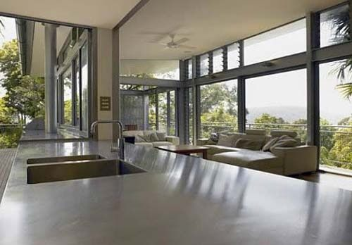 Concrete Kitchen #floor decorating before and after #floor interior design