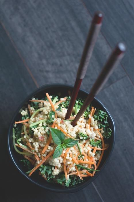Thai Coconut Quinoa Salad