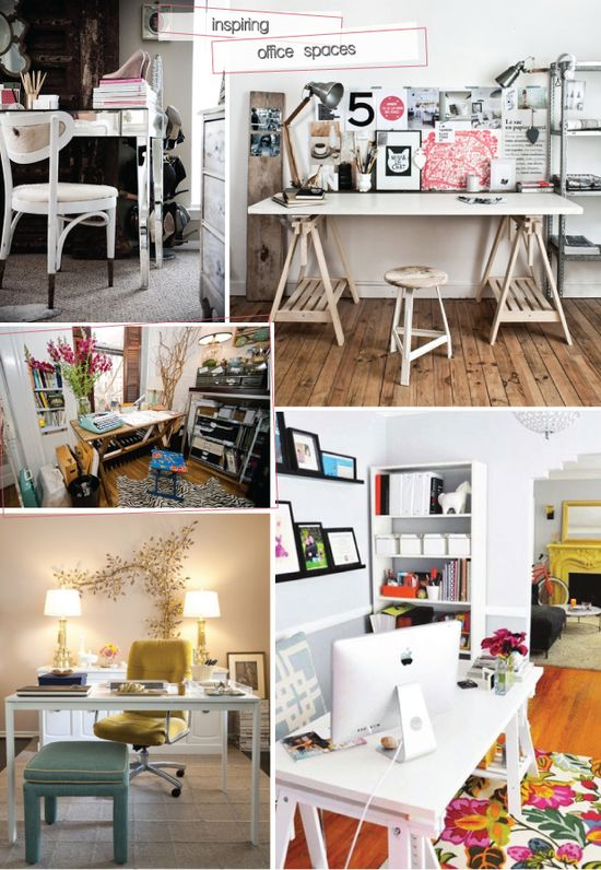 lovely home office spaces