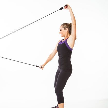 Repin if monotonous cardio just isn't your thing! This simple tool will jazz up your sweat session and also tone and torch calories: www.shape.com/...