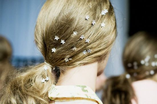 love the delicate hair accessories