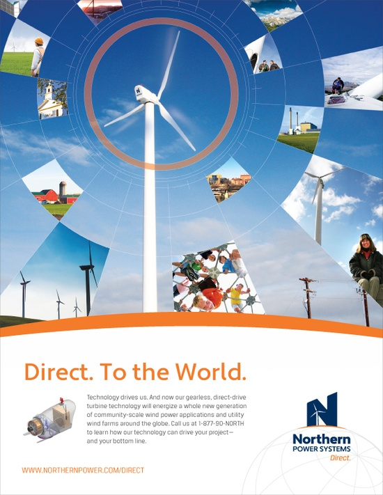 Print Advertisement Design for Northern Power Systems