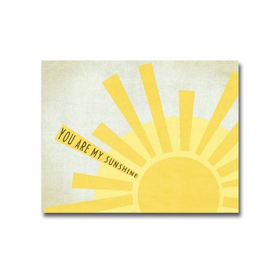 Sunshine Poster - Digital Art Printable