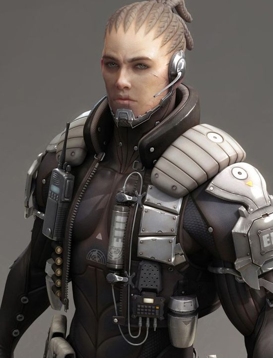 25 Astonishing 3D Character Designs and Zbrush Models