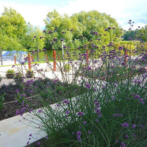 Riverside Garden by Berkshire garden designer Joanne Alderson Design