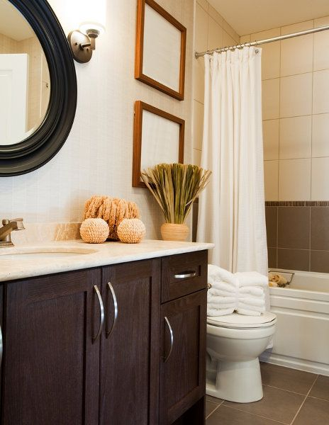 Nice Looking Small Bathroom Decorating : Nice Looking Small Bathroom Decorating Picture
