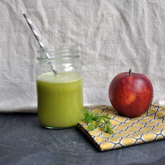 Minted Fennel-Apple Juice