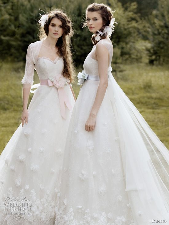Papilio wedding dresses!