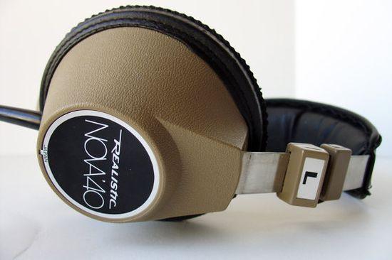 Vintage 1970s Radio Shack Realistic Nova 40 Stereo Headset