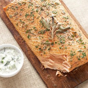 See How to Make Grilled Herbed Salmon